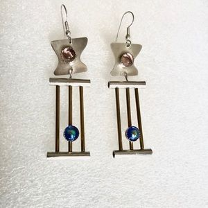 Ultra Modern Artisan Earrings